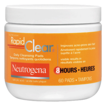 Tampons nettoyants quotidiens NEUTROGENA RAPID CLEAR®