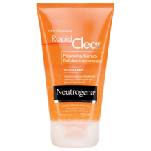 NEUTROGENA RAPID CLEAR® Foaming Scrub