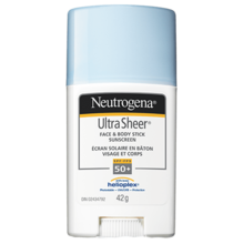 NEUTROGENA® ULTRA SHEER® Face & Body Stick Sunscreen SPF 50+