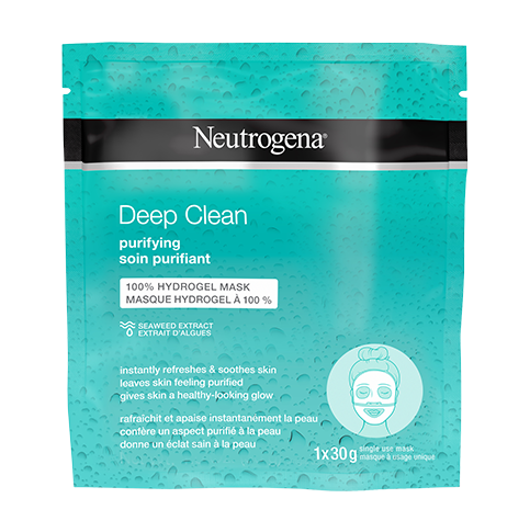 NEUTROGENA DEEP CLEAN® PURIFYING Hydrogel Mask
