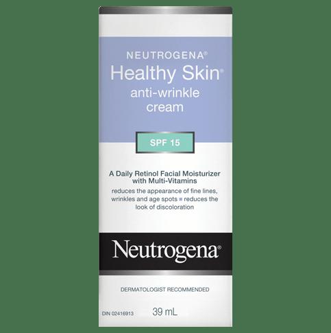 NEUTROGENA®HEALTHY SKIN® Anti-Wrinkle Cream SPF 15