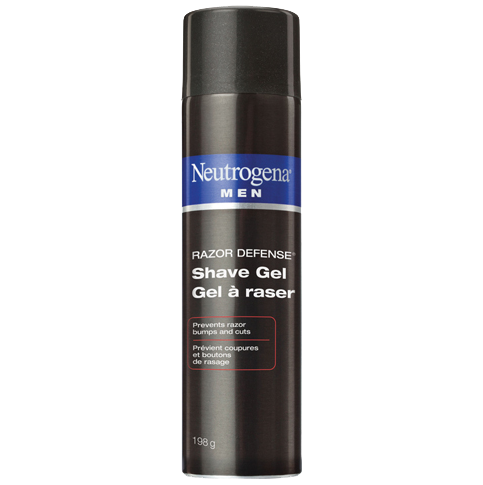 Gel à raser NEUTROGENA MEN® RAZOR DEFENSE®