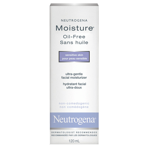 NEUTROGENA® MOISTURE® Oil-Free Sensitive Skin
