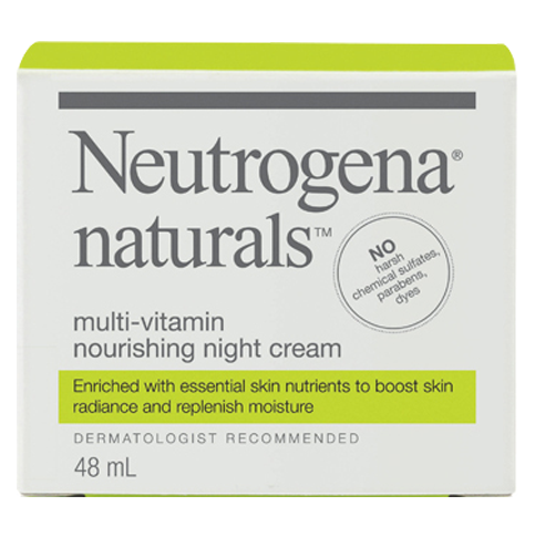 NEUTROGENA NATURALS® Multi-Vitamin Nourishing Night Cream