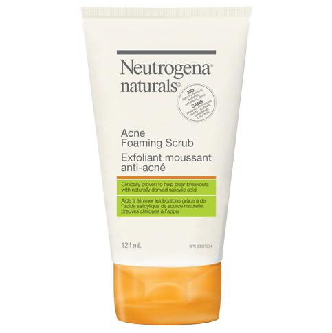 NEUTROGENANATURALS® Acne Foaming Scrub