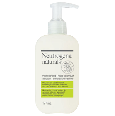 NEUTROGENANATURALS® Fresh Cleansing + Make-Up Remover