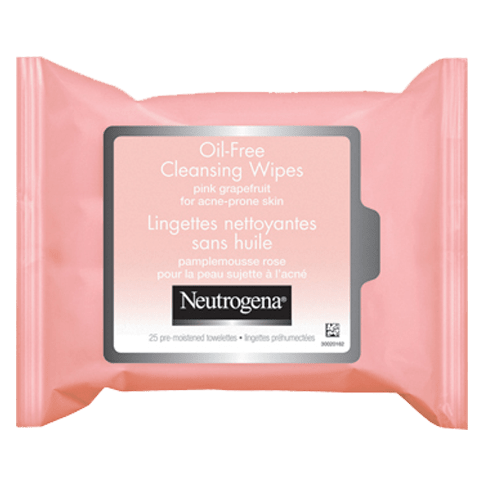NEUTROGENA® Oil-Free Cleansing Wipes Pink Grapefruit