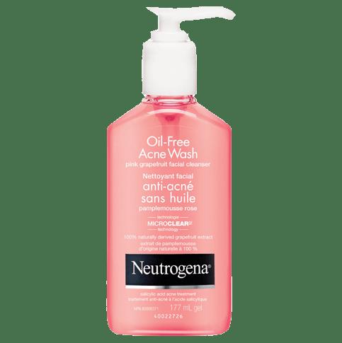 Nettoyant facial antiacné sans huile au pamplemousse rose NEUTROGENA®