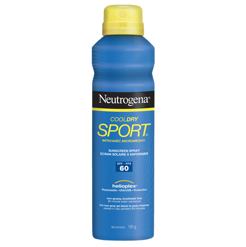 NEUTROGENA® COOLDRY SPORTTM Spray SPF 60