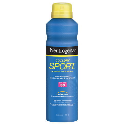NEUTROGENA® COOLDRY SPORTTM Spray SPF 30