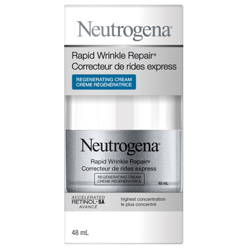 NEUTROGENA® RAPID WRINKLE REPAIR® Regenerating Cream