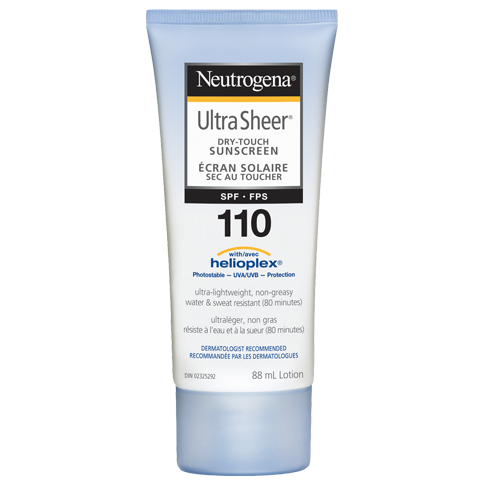 NEUTROGENA® ULTRA SHEER® Dry-Touch Lotion SPF 110