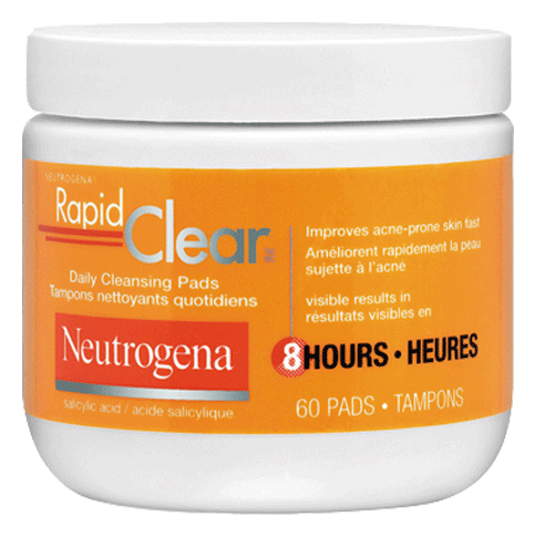 NEUTROGENARAPID CLEAR® Daily Cleansing Pads
