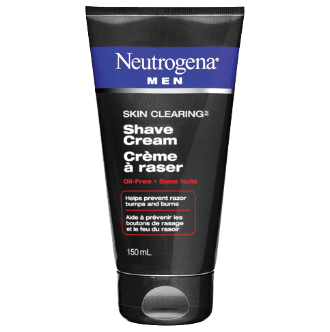 NEUTROGENA® MEN® SKIN CLEARINGTM Shave Cream