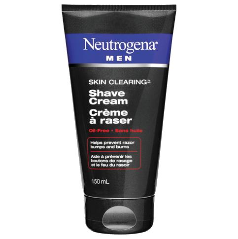 NEUTROGENA®MEN® SKIN CLEARINGTM Shave Cream