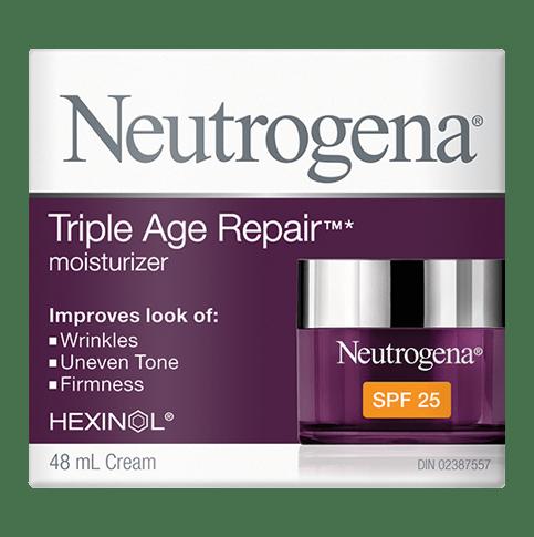NEUTROGENA®TRIPLE AGE REPAIR® Moisturizer SPF 25