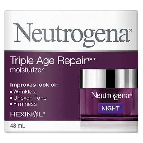 NEUTROGENA® TRIPLE AGE REPAIR® Moisturizer Night