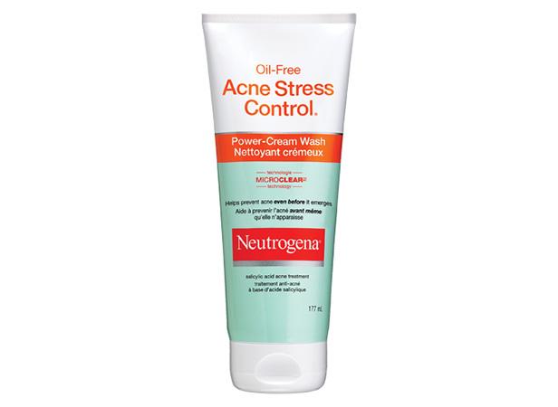 NEUTROGENA® ACNE STRESS CONTROL® Power-Cream Wash