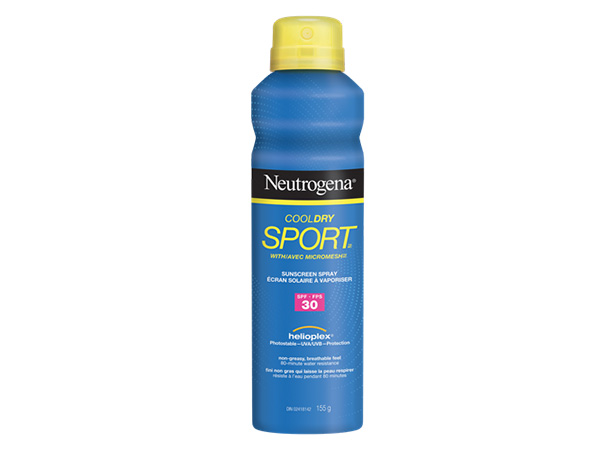 NEUTROGENA® COOLDRY SPORTTM Sprays