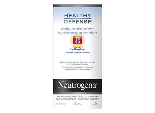 NEUTROGENA® HEALTHY DEFENSE® Daily Moisturizer SPF 45
