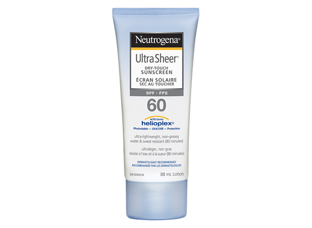 NEUTROGENA® ULTRA SHEER® Dry Touch Sunscreen SPF 60