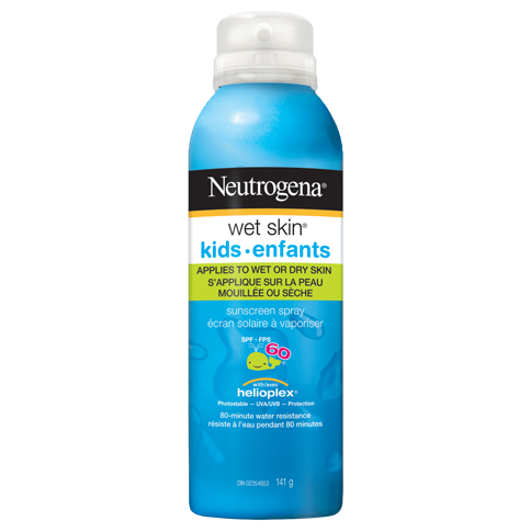 NEUTROGENA® WET SKIN® Sunscreen Spray Kids
